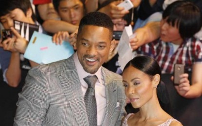 WILL SMITH AND JADA ATTEND MEN AND BLACK 3 PREMIERE…TOGETHER!