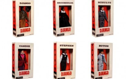 DJANGO UNCHAINED: SLAVE DOLLS?!?!