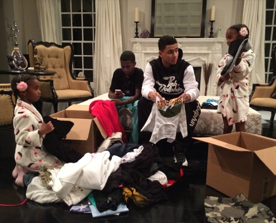 Rich Kids Giving Back: P Diddy's Kids Send Relief To Typhoon Victims