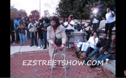 Bust a move: Grandma showcases her inner Beyoncé