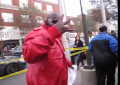 Rick Ross impersonator signs autographs at Howard Homecoming