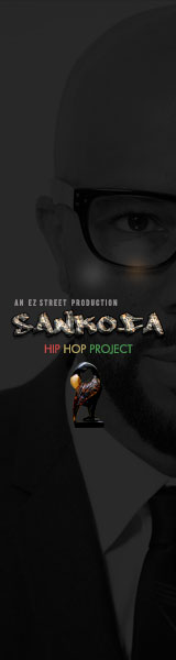 Sankofa HIp Hop Project Banner
