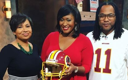 EZ Street On Fox 5 Talkin Redskins Vs Ravens