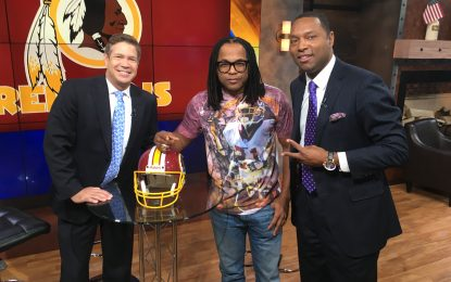 EZ Street On Fox 5 Talkin Redskins Vs. Browns