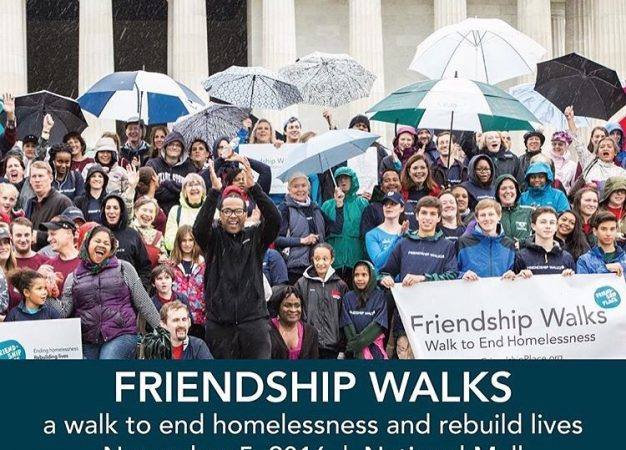 Friendship Walk To End Homlessness